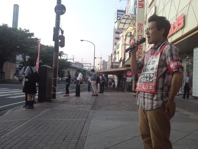 岡山駅前で、国鉄解雇撤回・JR復帰を求める10万筆署名を集める_d0155415_13295241.jpg