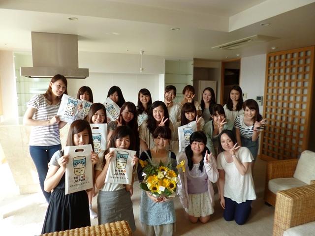 学習院女子大のみなさんと乳和食料理教室(*^_^*)_b0204930_22580035.jpg