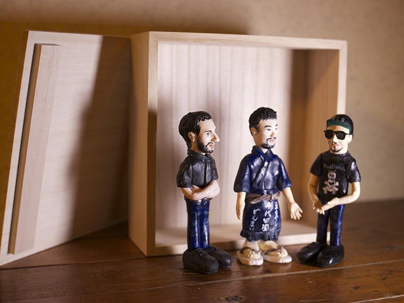 GranmaMusic online shopにて完全ハンドメイドTriune Gods Clay Doll (桐箱入り)受注生産開始_d0158942_21462539.jpg