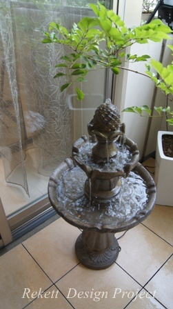 噴水がある素敵なパティオ風テラスご紹介~_f0029571_17565330.jpg