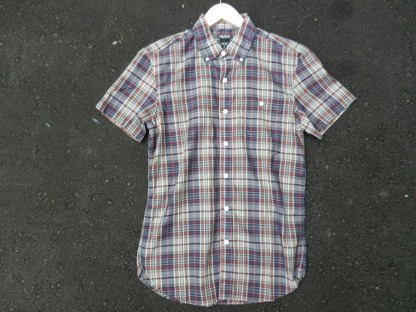 ~着た時の違いに驚いた当店の今季一押しチェックシャツ~_a0141274_14524872.jpg