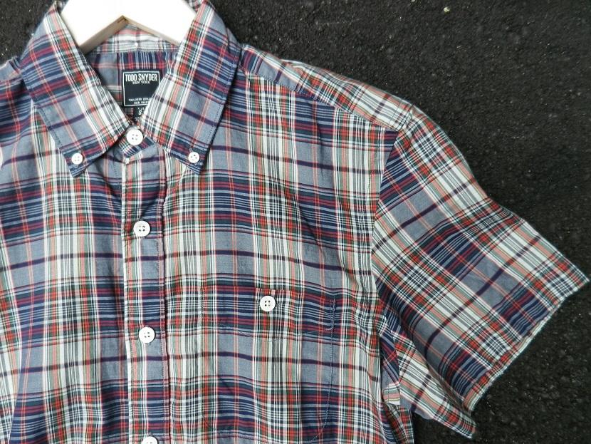 ~着た時の違いに驚いた当店の今季一押しチェックシャツ~_a0141274_1454512.jpg