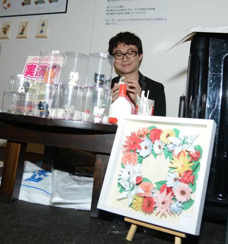 名古屋総合デザイン専門学校卒業生の月森さんがクリエーターズマーケットVol30に出店_b0110019_5421836.jpg