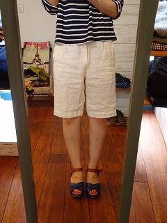 【大人だから穿けるショートパンツ】_c0166624_1573940.jpg