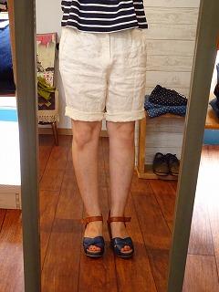 【大人だから穿けるショートパンツ】_c0166624_1582353.jpg