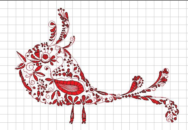 柄入り鳥の刺繍データを作りました♪_c0316026_19225084.jpg