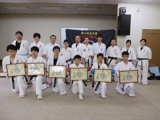 昇段審査会 10人組手!_c0118332_16505185.jpg