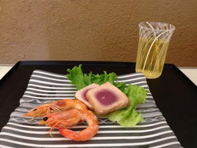 アキノヨーコさんのお皿に_b0132442_13242383.jpg