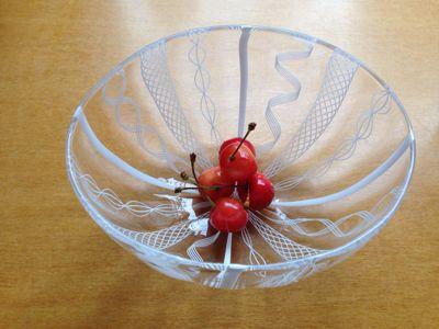 アキノヨーコさんのお皿に_b0132442_1324263.jpg