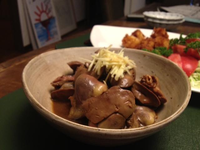 鶏レバーの艶煮_c0069247_23132978.jpg