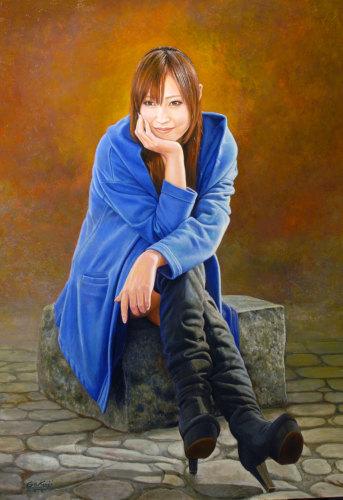 「第61回全日肖展」東京都美術館できょうから始まりました。_b0174462_22401991.jpg