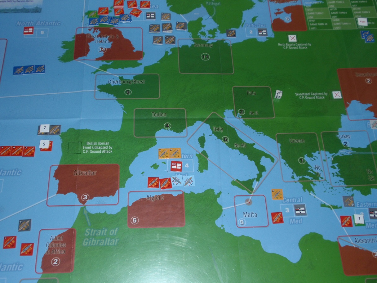 Decision Games「Nine Navies War」⑪_b0162202_18265859.jpg