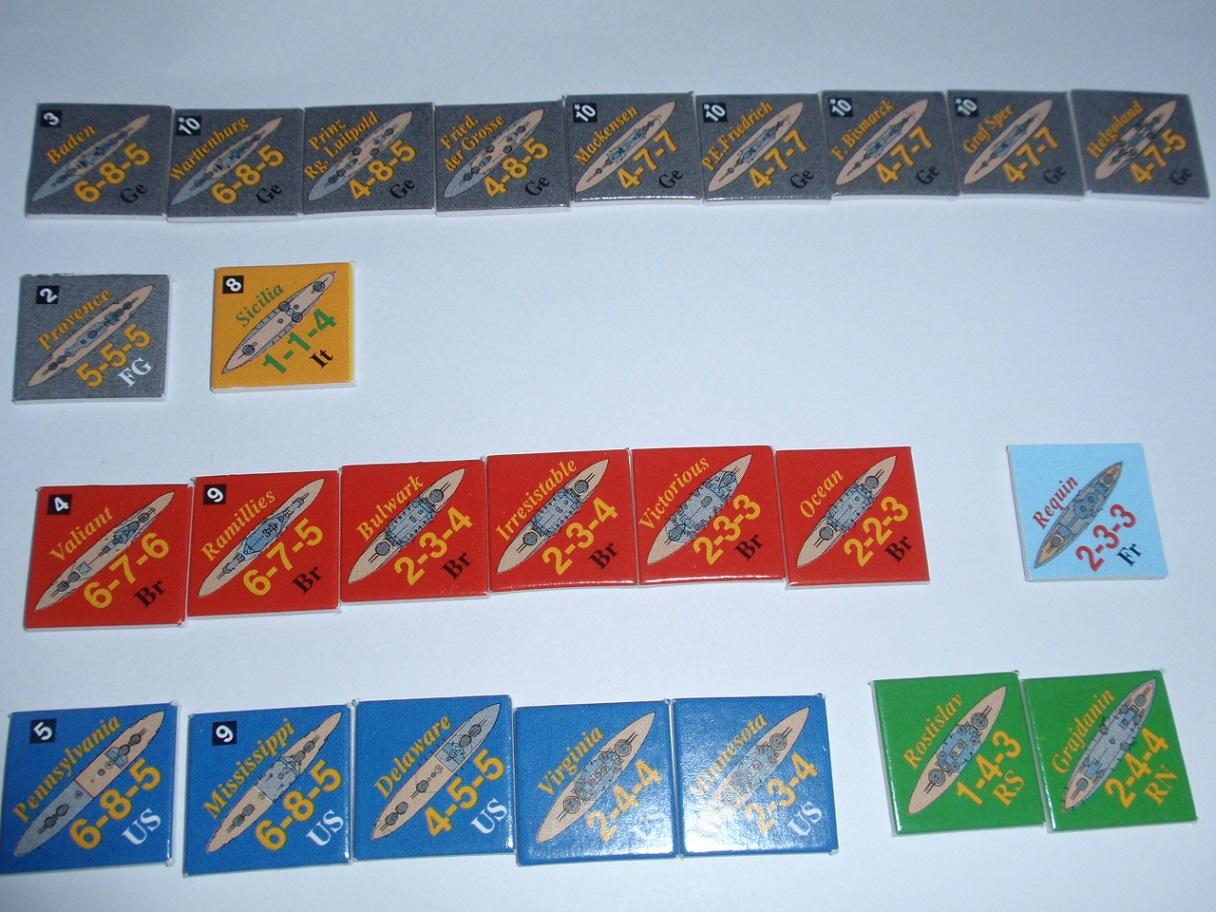 Decision Games「Nine Navies War」⑪_b0162202_18293829.jpg