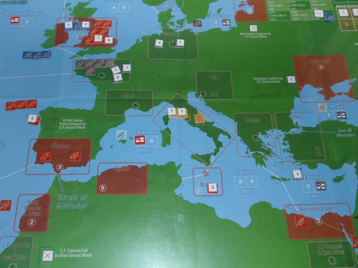 Decision Games「Nine Navies War」⑪_b0162202_18301375.jpg