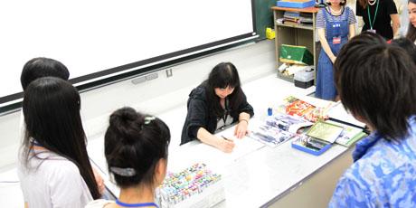 2014年6月21日,22日にNSCカレッジでは体験入学が開催 5_b0110019_14202427.jpg