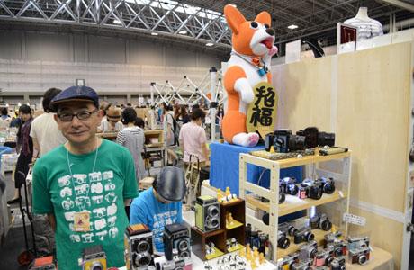 名古屋総合デザイン専門学校で講師をされている山盛先生がクリエーターズマーケット30に出店しました。_b0110019_15513261.jpg