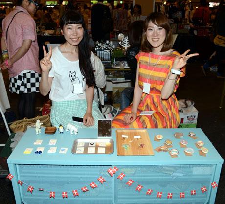 クリエーターズマーケットVol30に名古屋ファッション専門学校の卒業生が出店してました。_b0110019_16132789.jpg