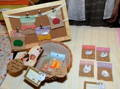 名古屋総合デザイン専門学校の在校生がクリエーターズマーケット30に出店しました。_b0110019_161741.jpg