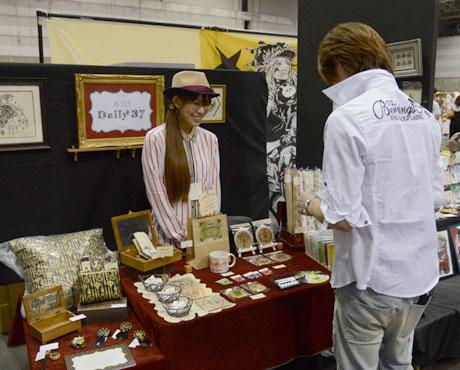名古屋総合デザイン専門学校卒業生Daily37さんがクリエーターズマーケット30に出店してます_b0110019_1653686.jpg