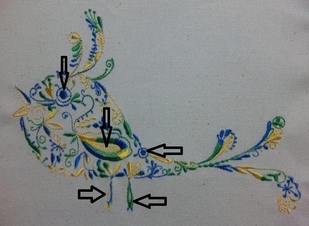 カラフル鳥の試縫い刺繍をしました♪_c0316026_19342502.jpg