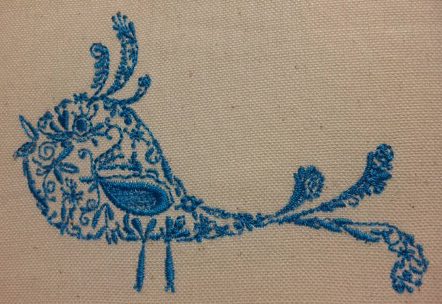 カラフル鳥の試縫い刺繍をしました♪_c0316026_19384246.jpg