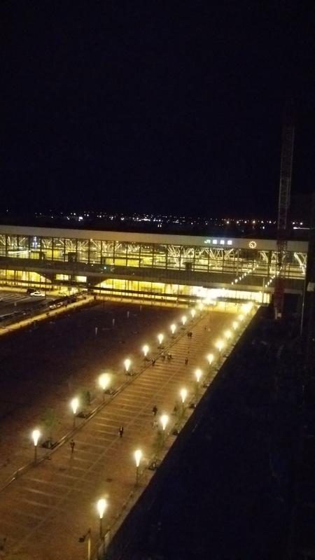 旭川駅前の夜景_b0106766_23433150.jpg