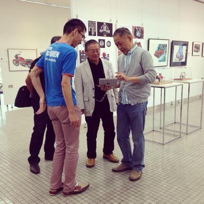 AAF オートモビル・アート連盟 第3回作品展へ_f0346986_0541634.jpg