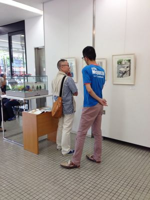 AAF オートモビル・アート連盟 第3回作品展へ_f0346986_0541819.jpg