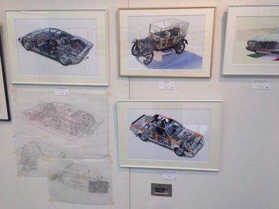 AAF オートモビル・アート連盟 第3回作品展へ_f0346986_0545225.jpg