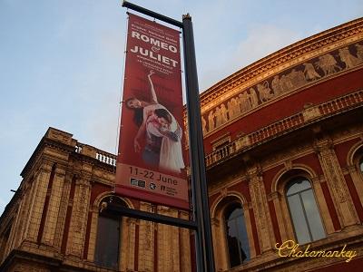 Royal Albert HallでRomeo&Julietを観る_f0238789_5561570.jpg