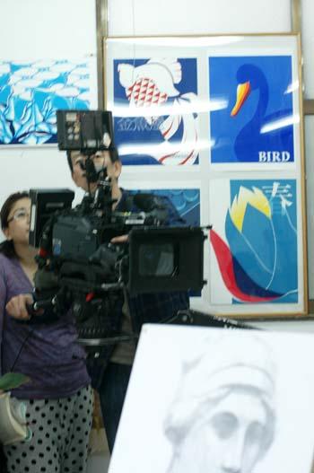 テレビのロケを行いました_f0234596_15311710.jpg