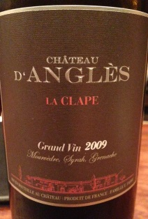 Chateau D\'Angles grand vin Rouge 2009 _e0025817_23294067.jpg