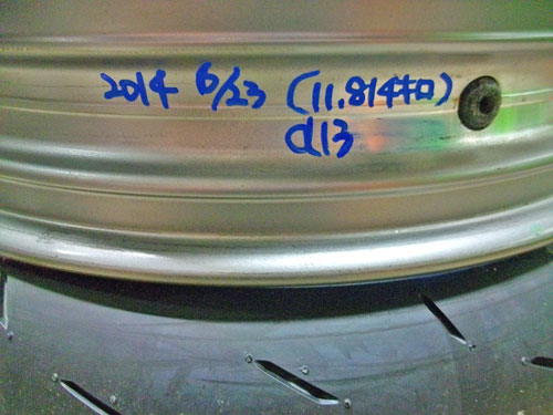 M田サン号 GPZ900Rニンジャのタイヤ交換で豹変??_f0174721_0225352.jpg