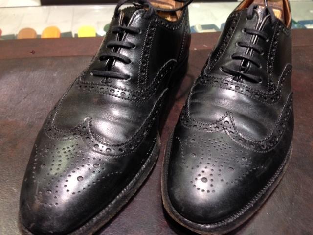 黒靴に青のクリーム(実験)_b0226322_18054612.jpg