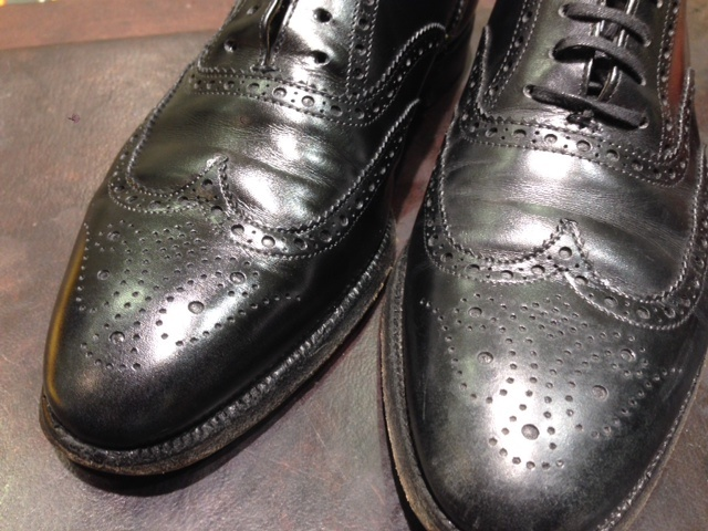 黒靴に青のクリーム(実験)_b0226322_18115661.jpg