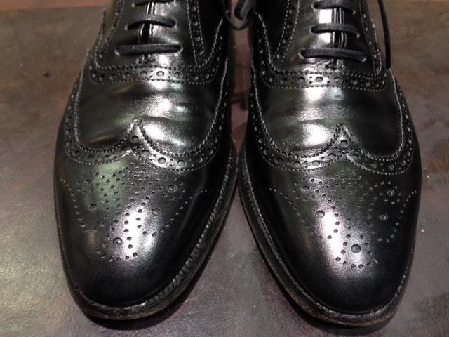 黒靴に青のクリーム(実験)_b0226322_18175036.jpg