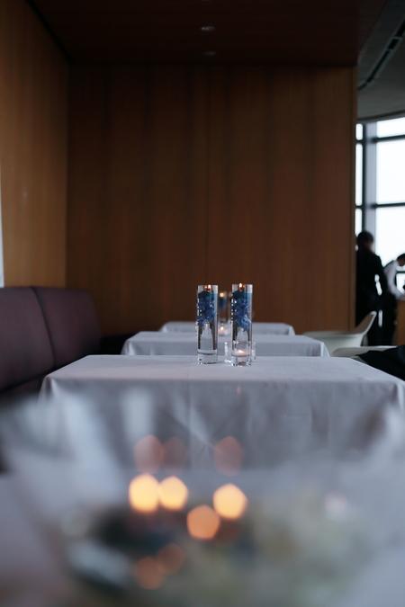 青のキャンドルと青いドレスに  ビーチェ東京様へ_a0042928_1340404.jpg