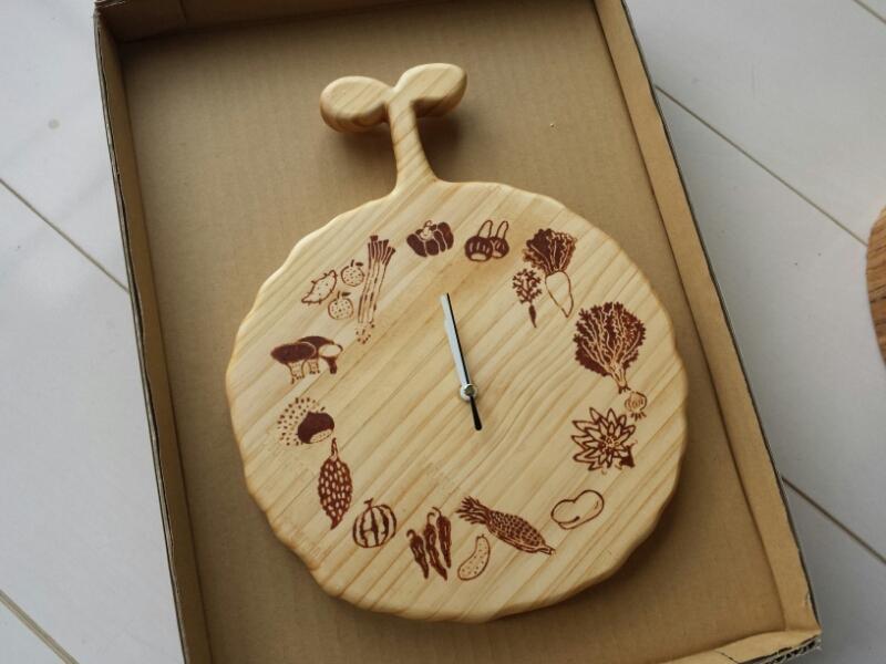 旬の野菜時計は嫁にゆきました_e0155231_2055235.jpg