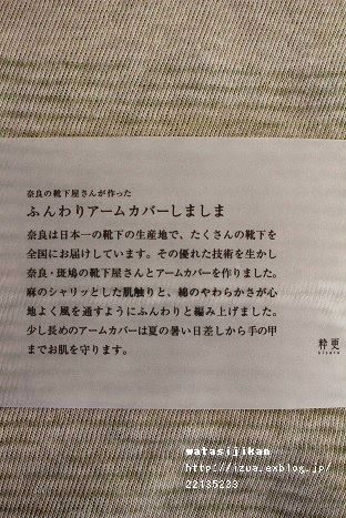 中川政七商店のアームカバーが届く_e0214646_14111283.jpg