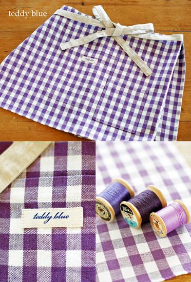 handmade apron  ハンドメイドのリネンのエプロン_e0253364_0193991.jpg