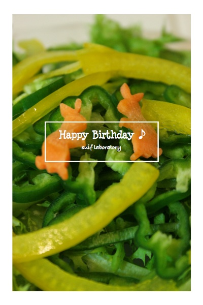Happy Birthday to T2 !! 2014_c0156468_19224533.jpg