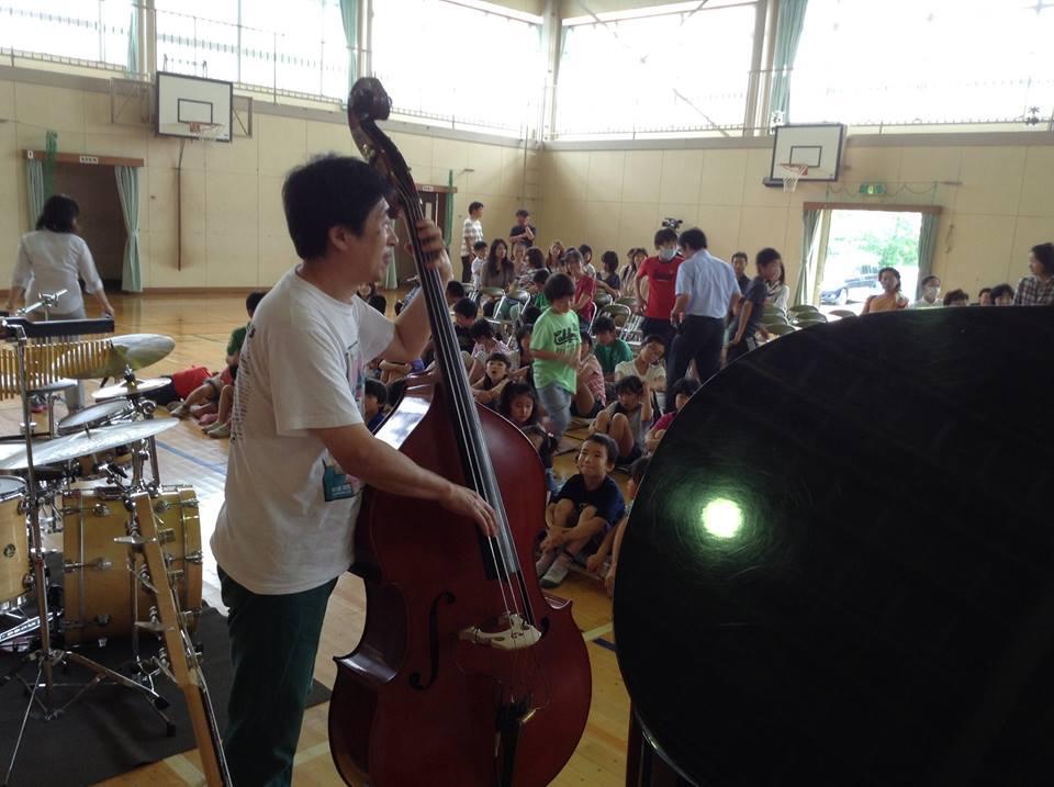 2014年6月21日 小田原市立片浦小学校での演奏_f0196496_002310.jpg