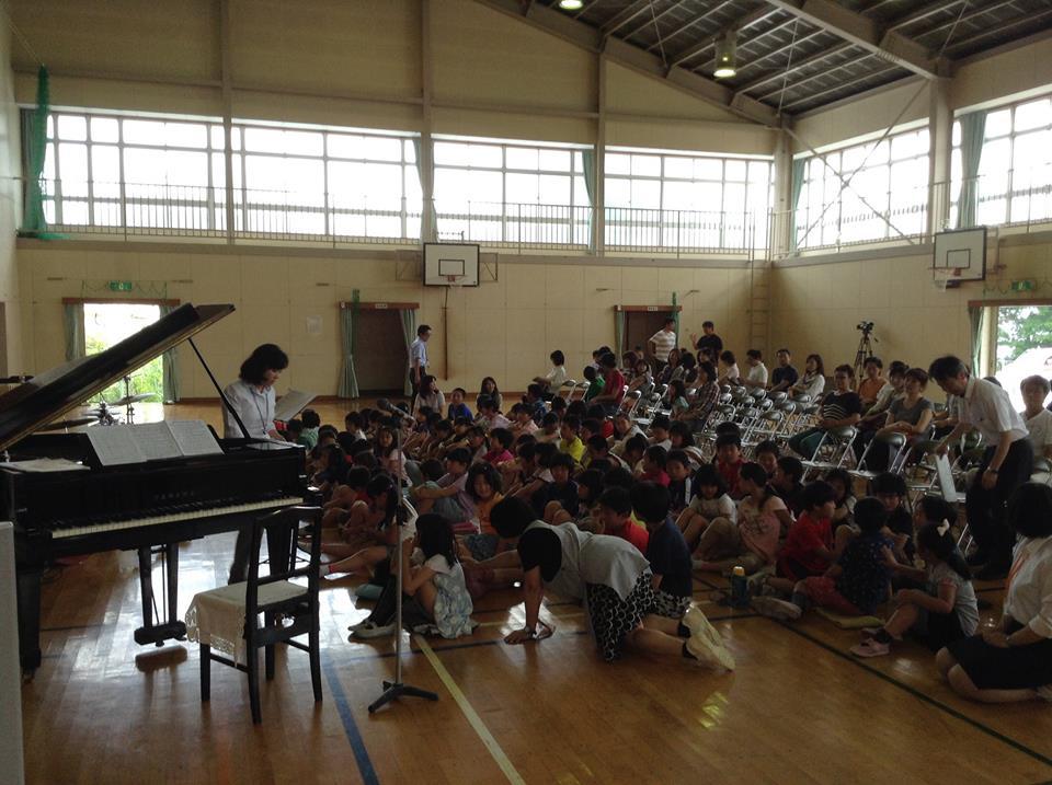 2014年6月21日 小田原市立片浦小学校での演奏_f0196496_004051.jpg