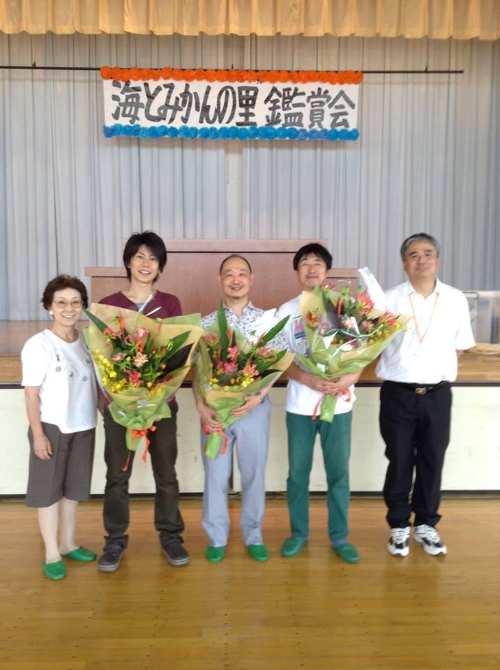 2014年6月21日 小田原市立片浦小学校での演奏_f0196496_005543.jpg