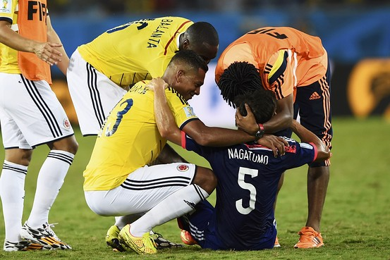 私の2014年ブラジルW杯観戦記5:「サッカーは足でやるもの、口先でやるものではない!」_e0171614_8252189.jpg