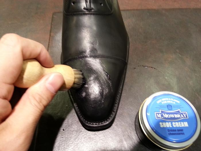 革靴、基本のお手入れ。_b0226322_14281451.jpg