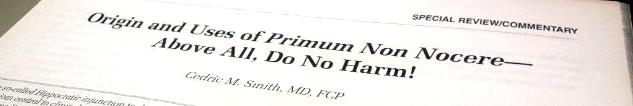 「First, Do No Harm」をヒポクラテスの誓いとして使うべきではない_e0255123_2017217.png