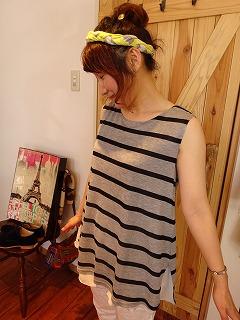 【☆モノトーンスタイルで夏は黒白?☆】_c0166624_13441686.jpg