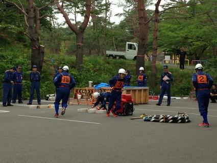 「消防操法競技大会」_f0259324_10572824.jpg