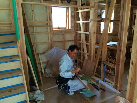 上新屋 Mさんの家 ★大工工事、電気設備工事_d0205883_125043.jpg